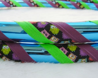 Custom Travel Hula Hoop 'The WHOOO-La Hoop'  - Made YOUR Size & Colors.