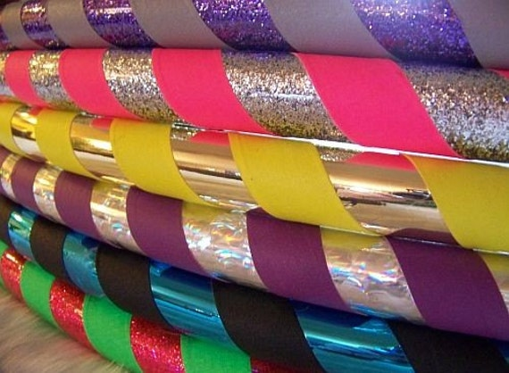 Kiddo 'SUPER SPARKLE' Hoop!  Choose YOUR Child's Favorite Colors! Durable, Professional & Affordable.