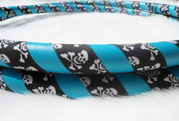 The SKULLS Ultragrip Travel Hula Hoop - Choose YOUR Favorite Color. Highest Quality Hoops at Great Prices.