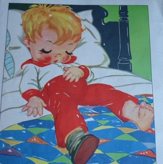 ON SALE Deedle Dumpling My Son John 1930s Ruth E Newton Illustration