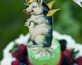 Cake Topper When Pigs Fly