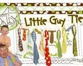 Little Guy Tie Pattern