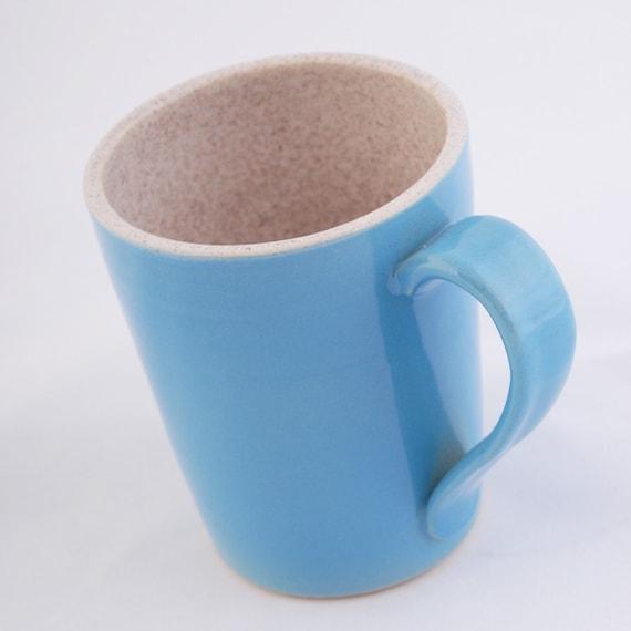 Sky Blue and Oatmeal Mug