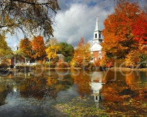 Harrisville - signed original photograph - New Hampshire Landscape, Award Winner