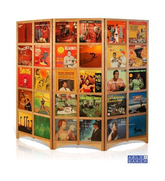 Sale Lp Room Divider Holds 60 12inch Records