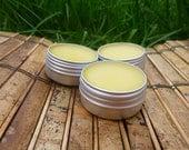 Orange Spice Lip Balm /// Clove & Sweet Orange /// Made with Organic Fair Trade Shea Butter /// 1/2 oz tin canister