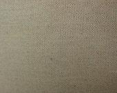 Oatmeal Cotton Linen Blend Fabric, 1/2 yard