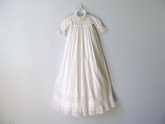 Antique 1900s Christening Gown