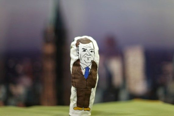 Jim Flaherty finger puppet