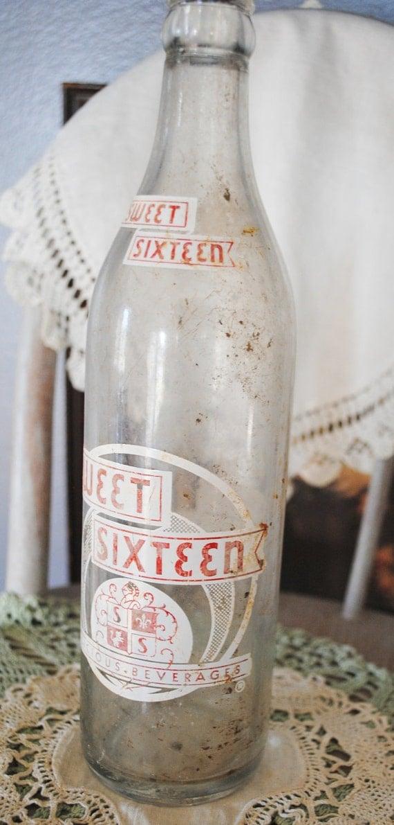 Sweet Sixteen Soda Bottle