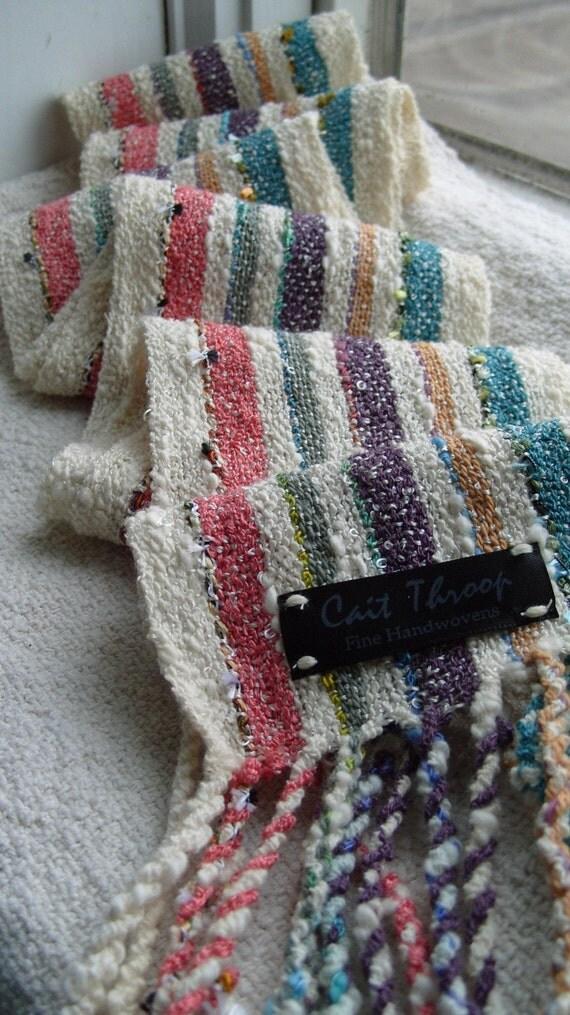 Pastel Stripes scarf