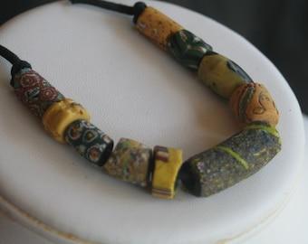 Vintage African Trade Beads Set of Ten