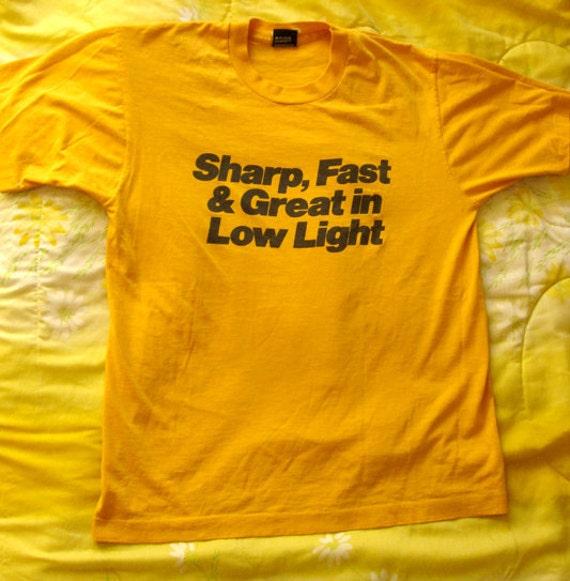 Vintage 70s T-Shirt - Eastman EXT Color Negative Films  - Kodak Movie Film shirt