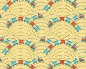 Scoot - Train in Yellow - sku C2725 - by Deena Rutter by  Riley Blake Designs - 1 Yard