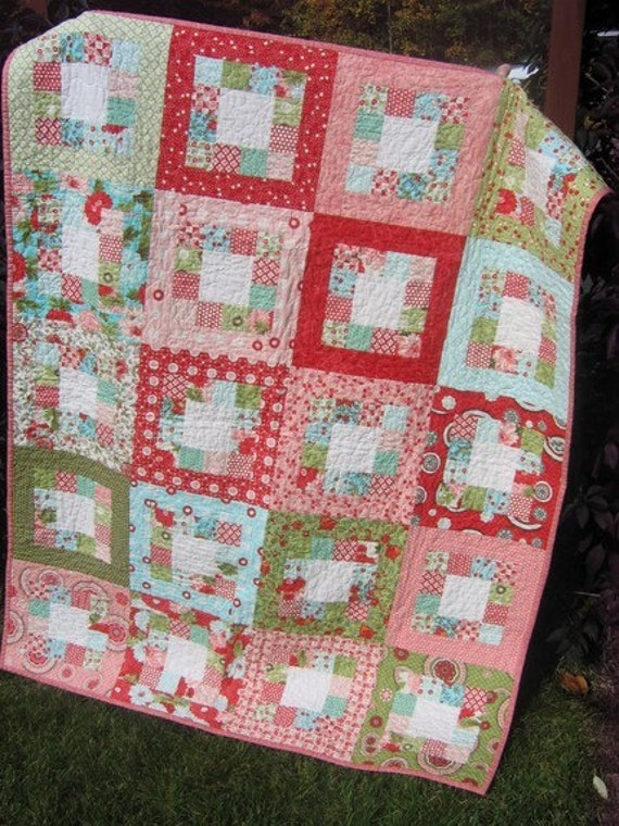 Quilt Kit Bliss By Bonnie And Camille With Market Square