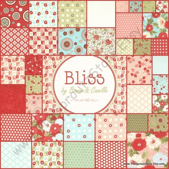 New Bliss By Bonnie And Camille For Moda Fabrics Layer