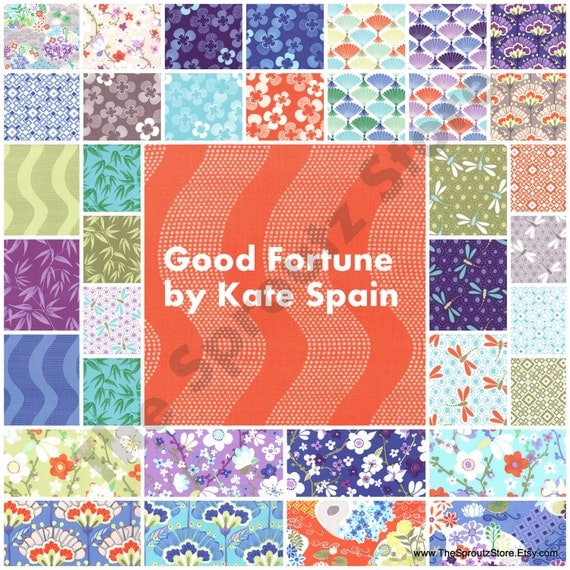 Good Fortune by Kate Spain for Moda Fabrics - Charm Pack