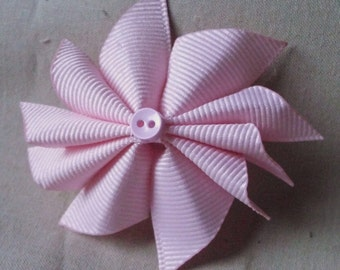 18inch Doll Soft Pink Bow
