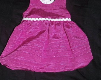 18inch Doll Hot Pink  Dress