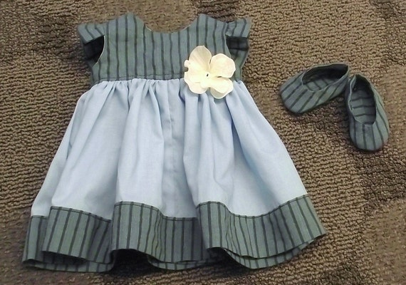 18inch Doll Dress and Shoes