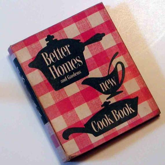 Vintage 1953 Bh G New Cookbook Better Homes By Graymountainvintage