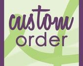 Custom Listing - MARGARET
