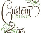 Custom Listing - EMILY