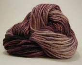 Gothic Fiction - hand painted alpaca / silk / merino wool yarn - 96 yds