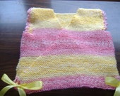 Pink and yellow baby kimono by needle1 on Etsy.com