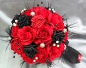 Reserved for MICHELLE - 1 X Bridal bouquet, 4 X Bridesmaid bouquets