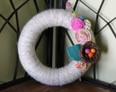 "Springtime Wreath- 8"""