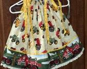 SPECIAL Listing for KRYSTAL Farmall Baby Dress