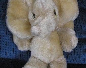 Orphan Vintage Mohair Elephant