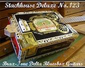 Mighty fine Mississippi Delta cigar box slide guitar
