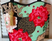"""RESERVED For """"ChristinaHaas"""" Lady Yang Tote Bag & 2 Wristlets"""
