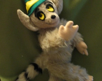 Lemming Plushie fully jointed limited edition made to order