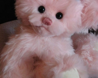 Baby Pinkie Sweetums fully jointed soft pink limited edition teddy bear
