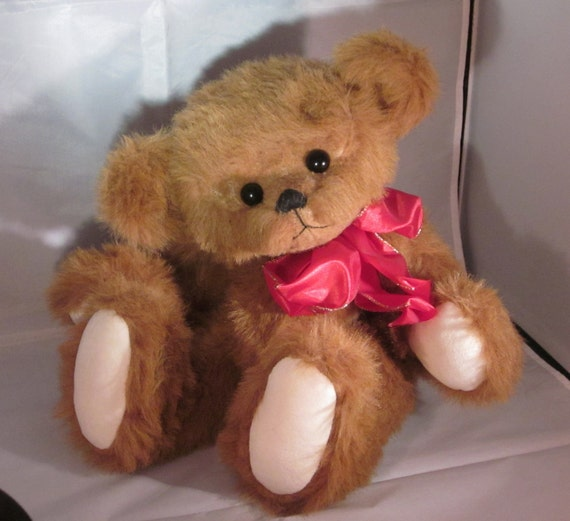 Huggy Boy Fully Jointed Teddy Bear OOAK