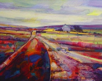 Calderdale Way at Dimmindale, Archival (print size 3)
