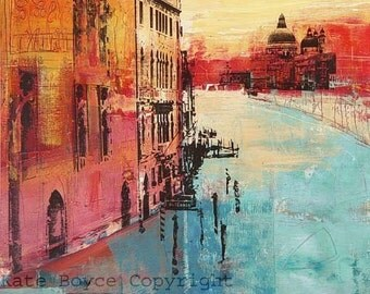 The Grand Canal, Venice. (Limited edition inkjet print -size 1)