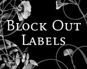 Re-Cover..Blockout  Wine Labels Upgrade