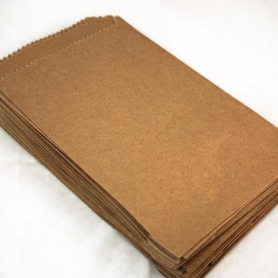 30 Brown Kraft Treat Bags......Blank