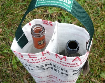 2 Hole Wine Bottle Carrier