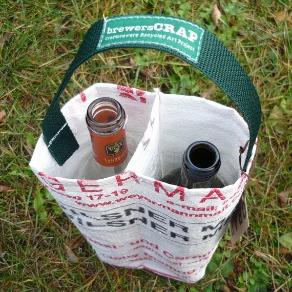 2 Hole Wine Bottle Carrier