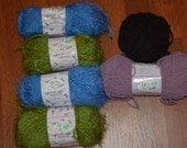 Reserved for lindaphcc-Yarn Bee--Highland Thistle and Dreamy Chenille-CLOSEOUT buy at best offer