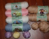 Reserved for lindaphcc-Simply Soft Yarn Set-CLOSEOUT by at best offer