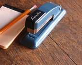 Vintage Stapler .. Denim Blue Swingline