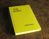 Vintage Book Journal .. Star Money