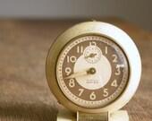 Vintage 1940s Westclox Baby Ben Clock .. Ivory .. Style 5