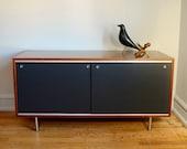 Vintage George Nelson Credenza .. Mid Century Modern Furniture
